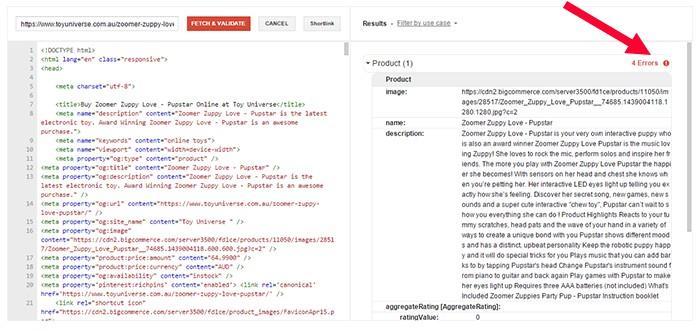 google-structured-data-errors