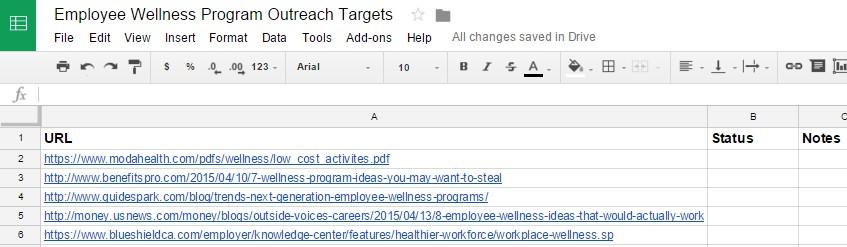 outreach-list