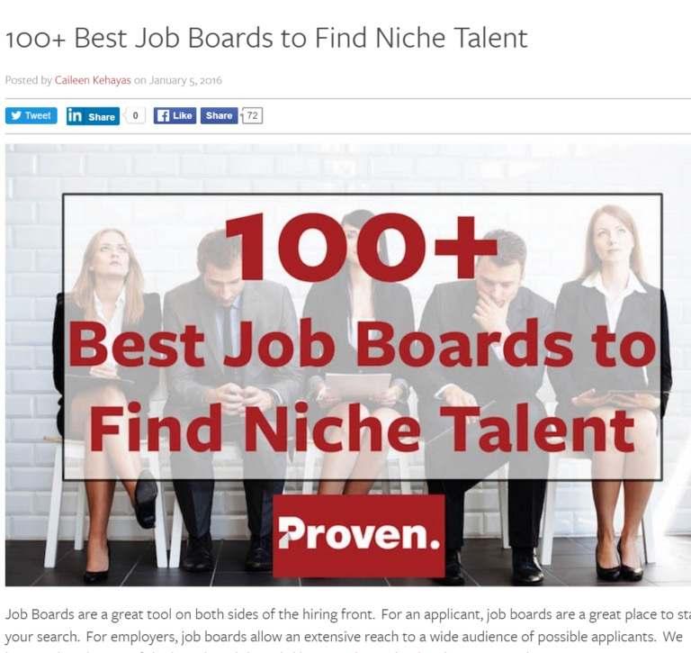 100+ лучших досок объявлений для поиска талантливых сотрудников