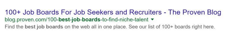 Вот как сниппет этой страницы в Google выглядит сегодня